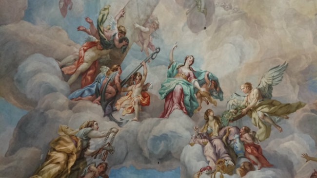 fresque ange